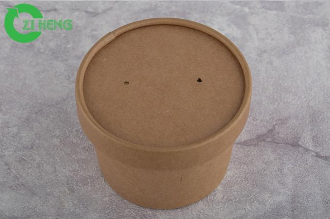 Custom Printed 16 Oz Coffee Cups With Lids Leakproof Double PE Coating