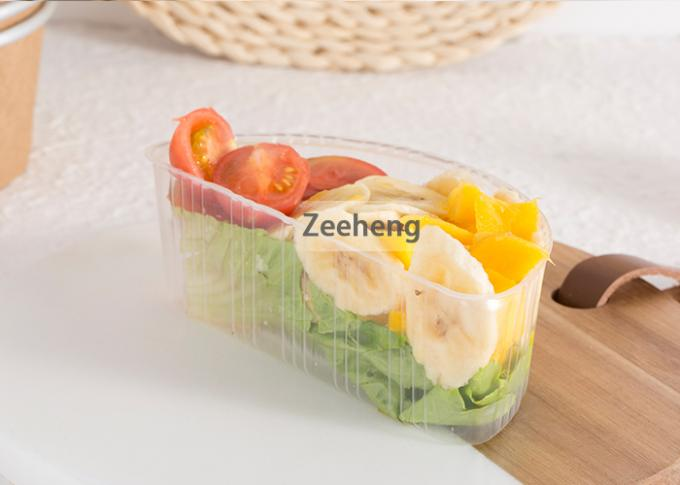 Customizable Plastic Divided Trays Of All Sizes Can Be Used With Brown Paper Bowls