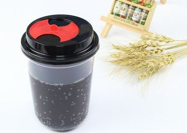 Food Grade Polypropylene Plastic Cups Hard Strong Sturdy Material For Juice Drinking