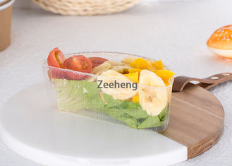 China Customizable Plastic Divided Trays Of All Sizes Can Be Used With Brown Paper Bowls supplier