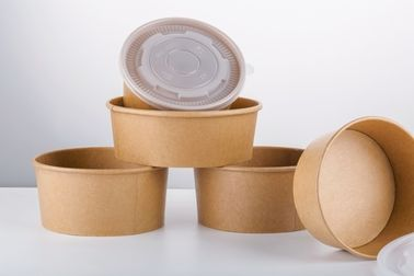 China 100% Recyclable Custom Take Away Paper Soup Bowls Disposable Free Sample supplier