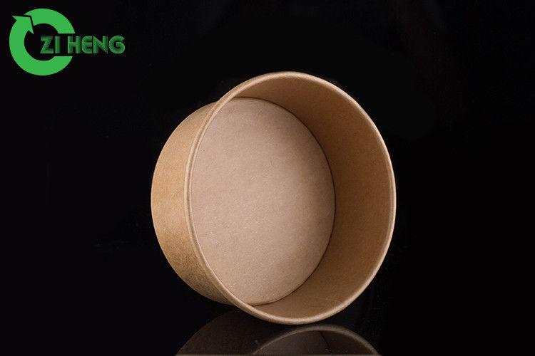 Microwavable Kraft Paper Bowls 25 Oz